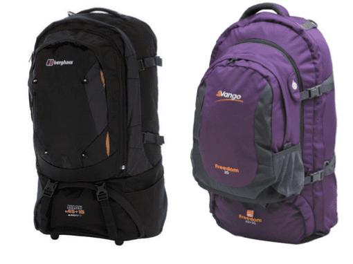 Berghaus Jalan or Vango Freedom – Choosing The Perfect Rucksack