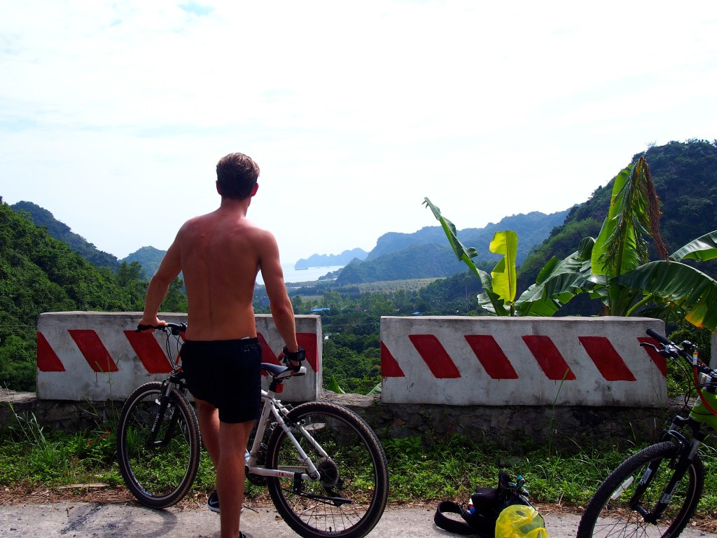 cat ba cycle island