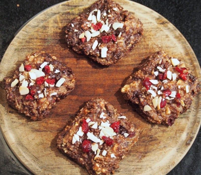Quinoa Fruit and Nut Bars