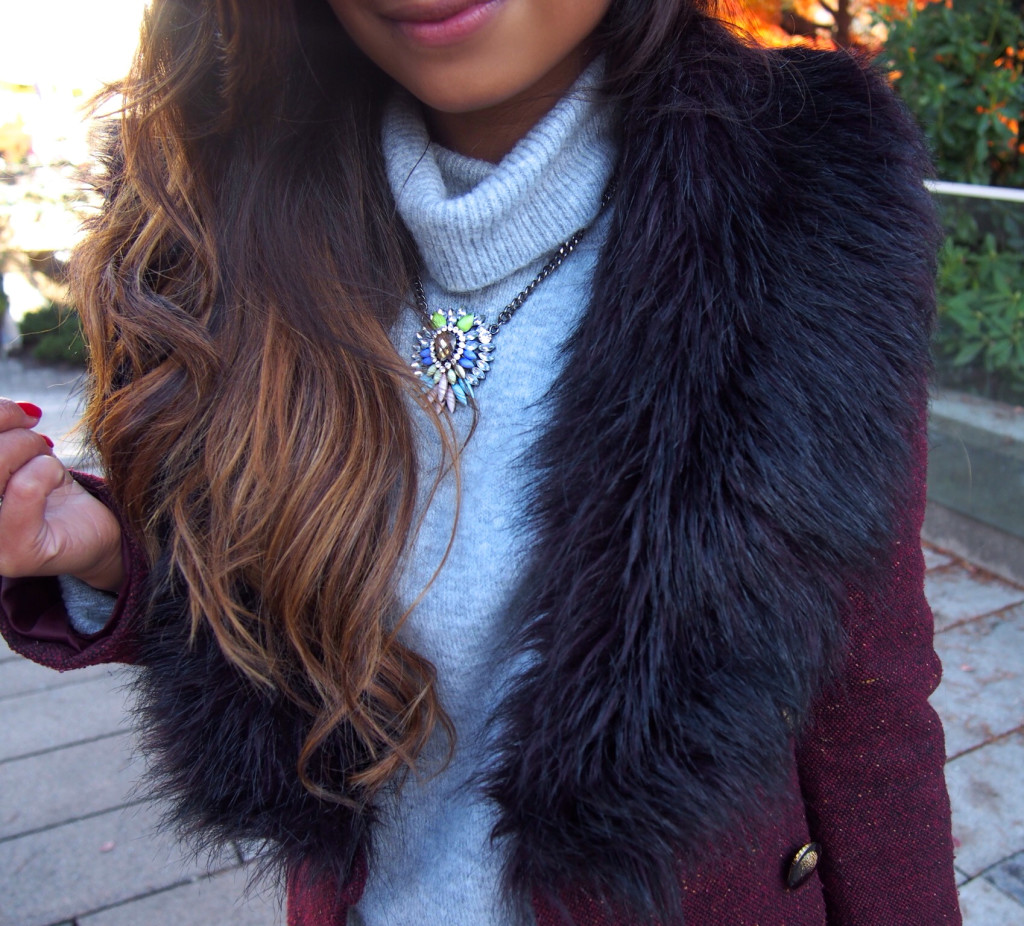 winter chic faux fur