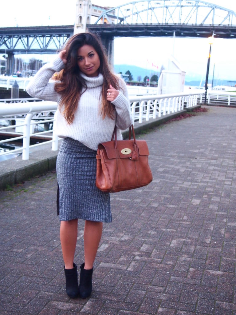 cosy knitwear