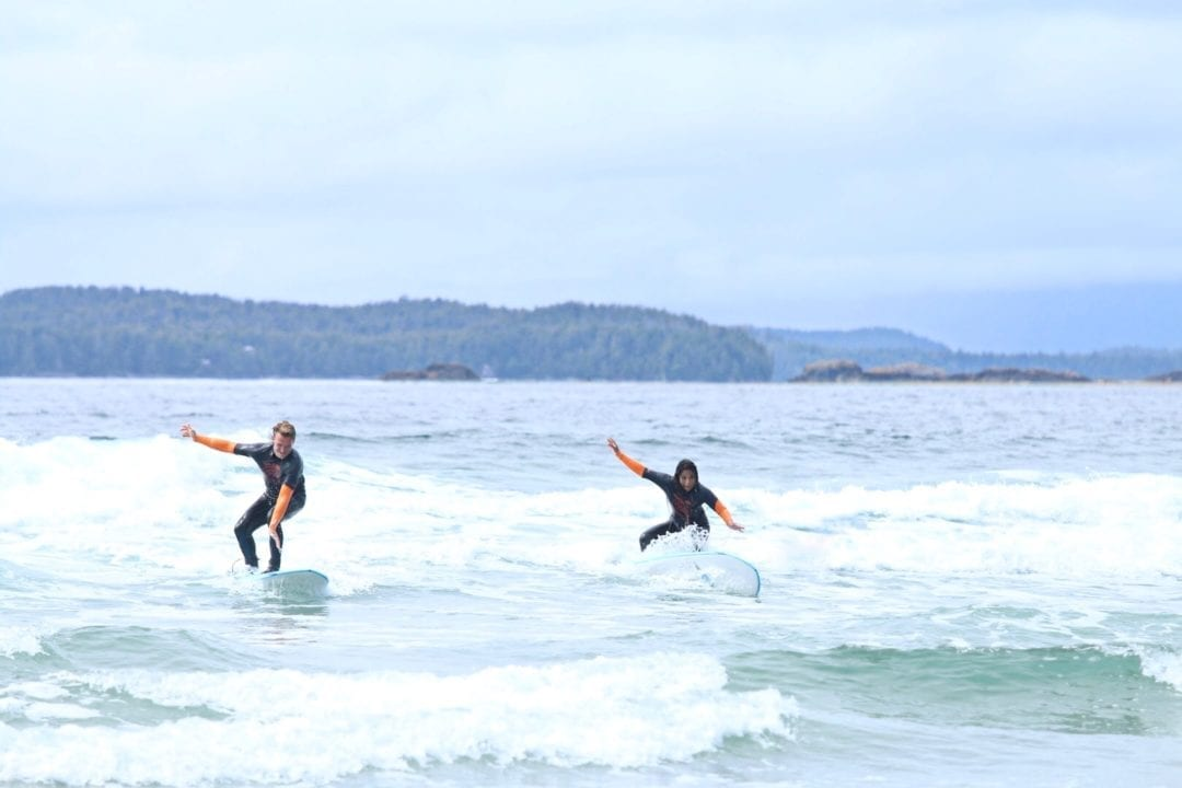 Surfing In Tofino
