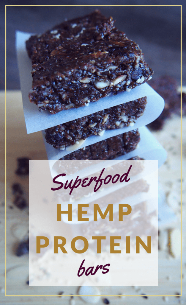Superfood Hemp Protein Bars