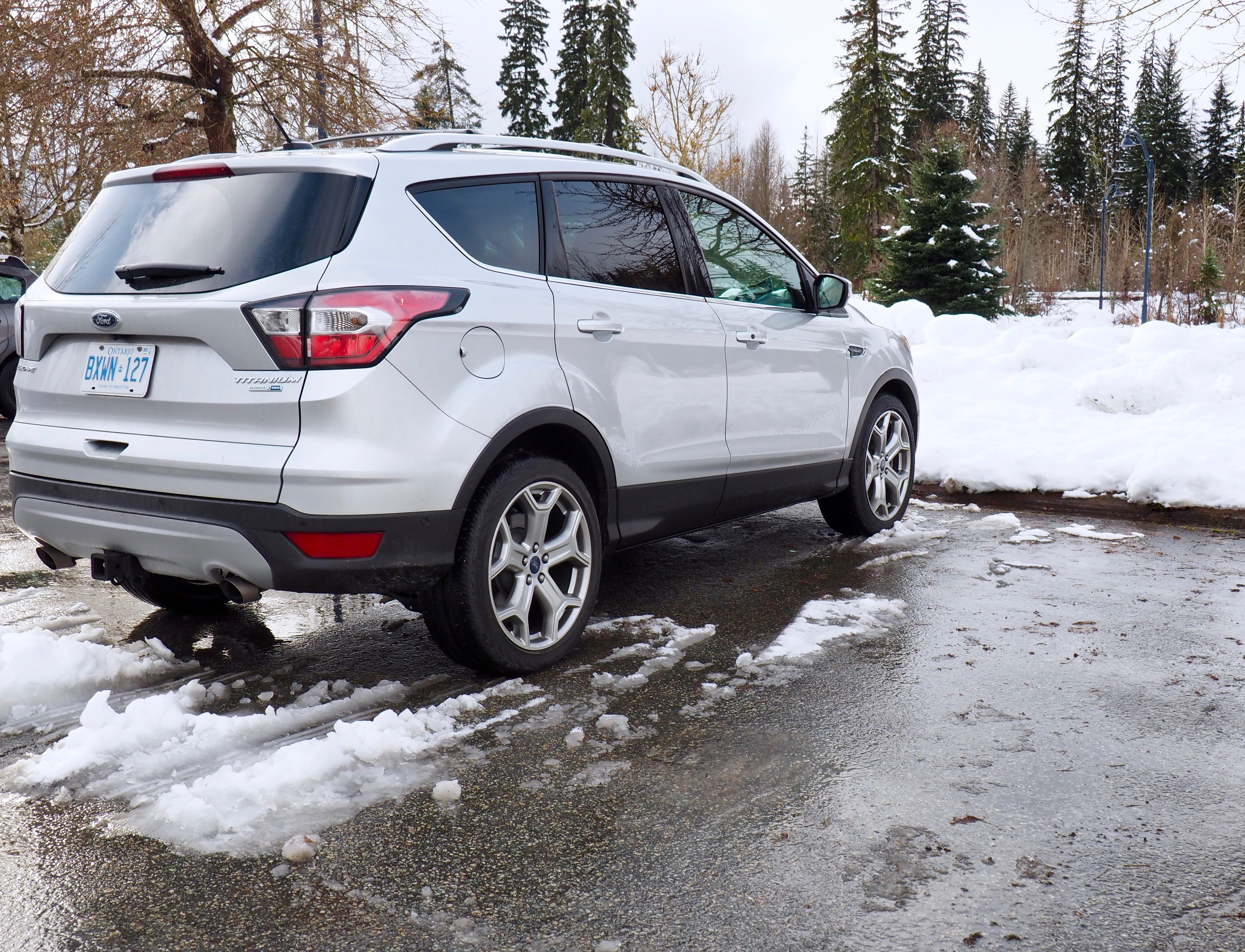 Ford Escape In The Snow