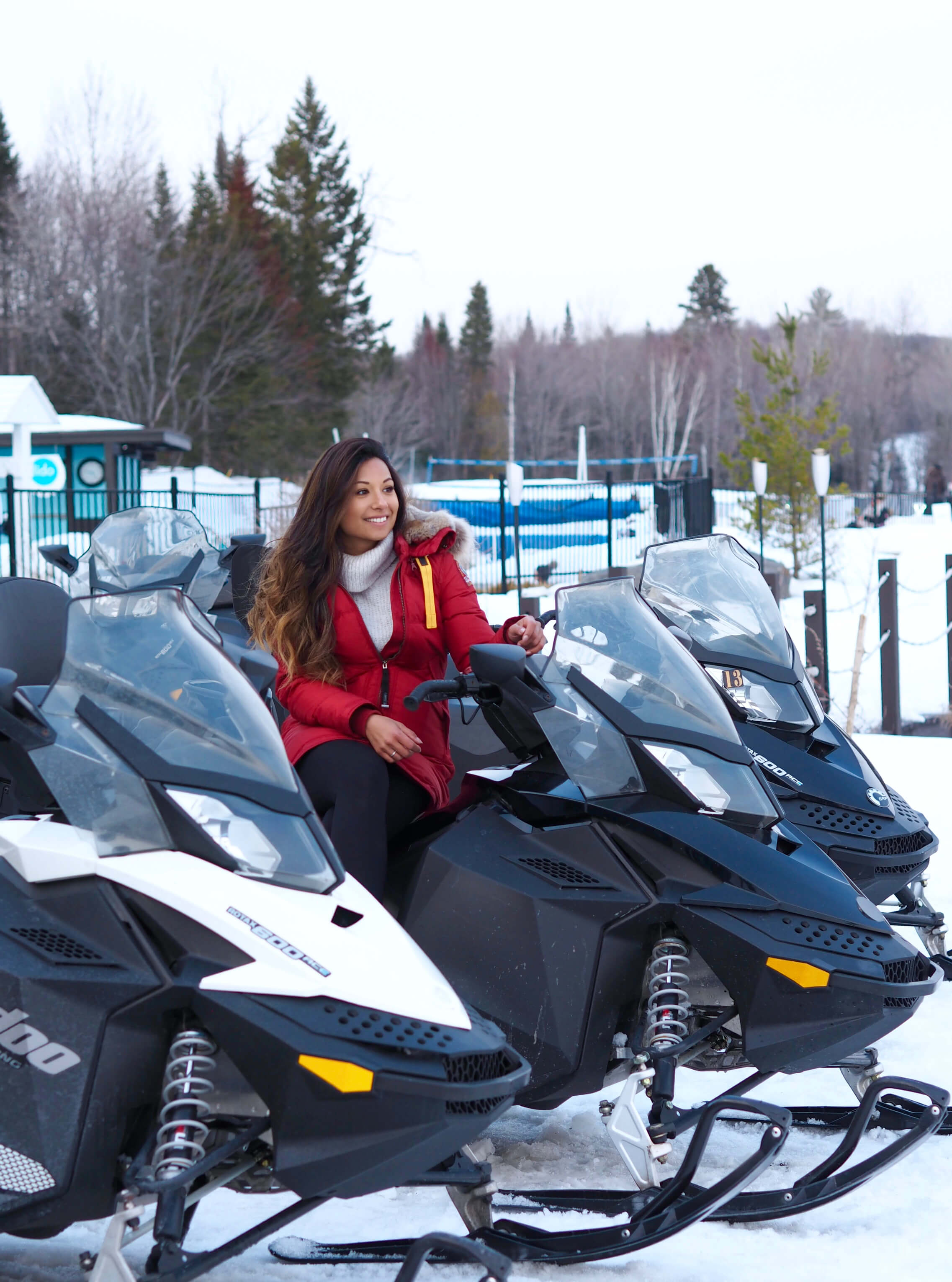 The Esterel Resort Snowmobiling