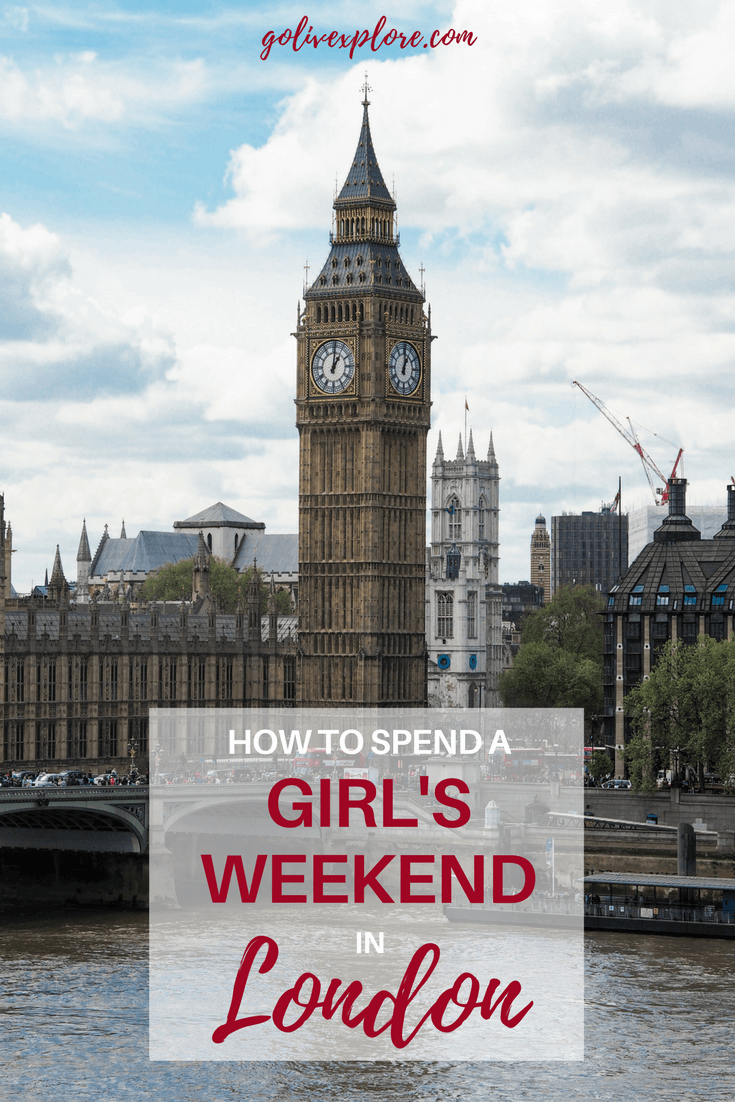 How To Spend A Girls Weekend In London