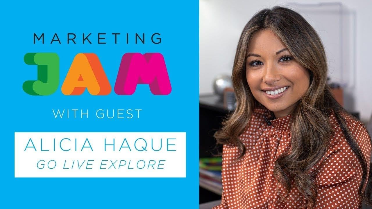 Alicia Haque Marketing Jam