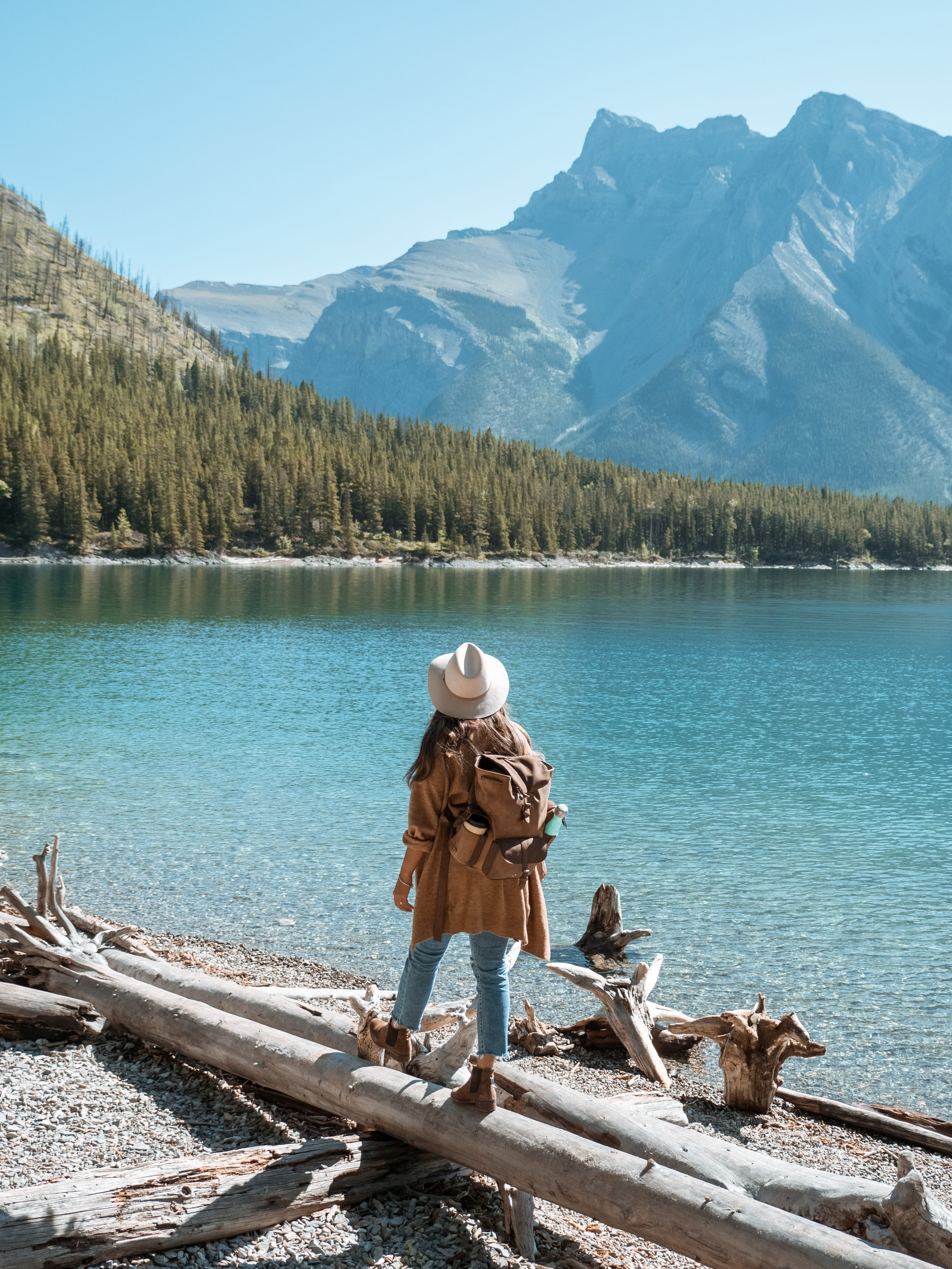 Visiting banff in autumn