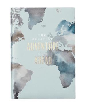 Embossed Adventure Journal