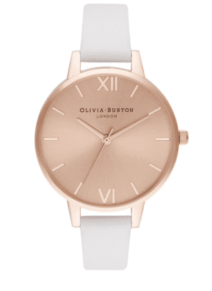 Olivia Burton Leather Strap Watch
