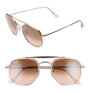 Ray Ban 52mm Aviator Sunglasses