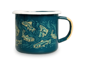 United By Blue Enamel Mug