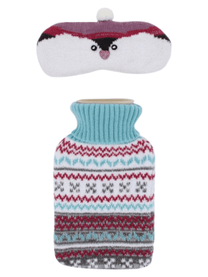 Totes Hot Water Bottle Set