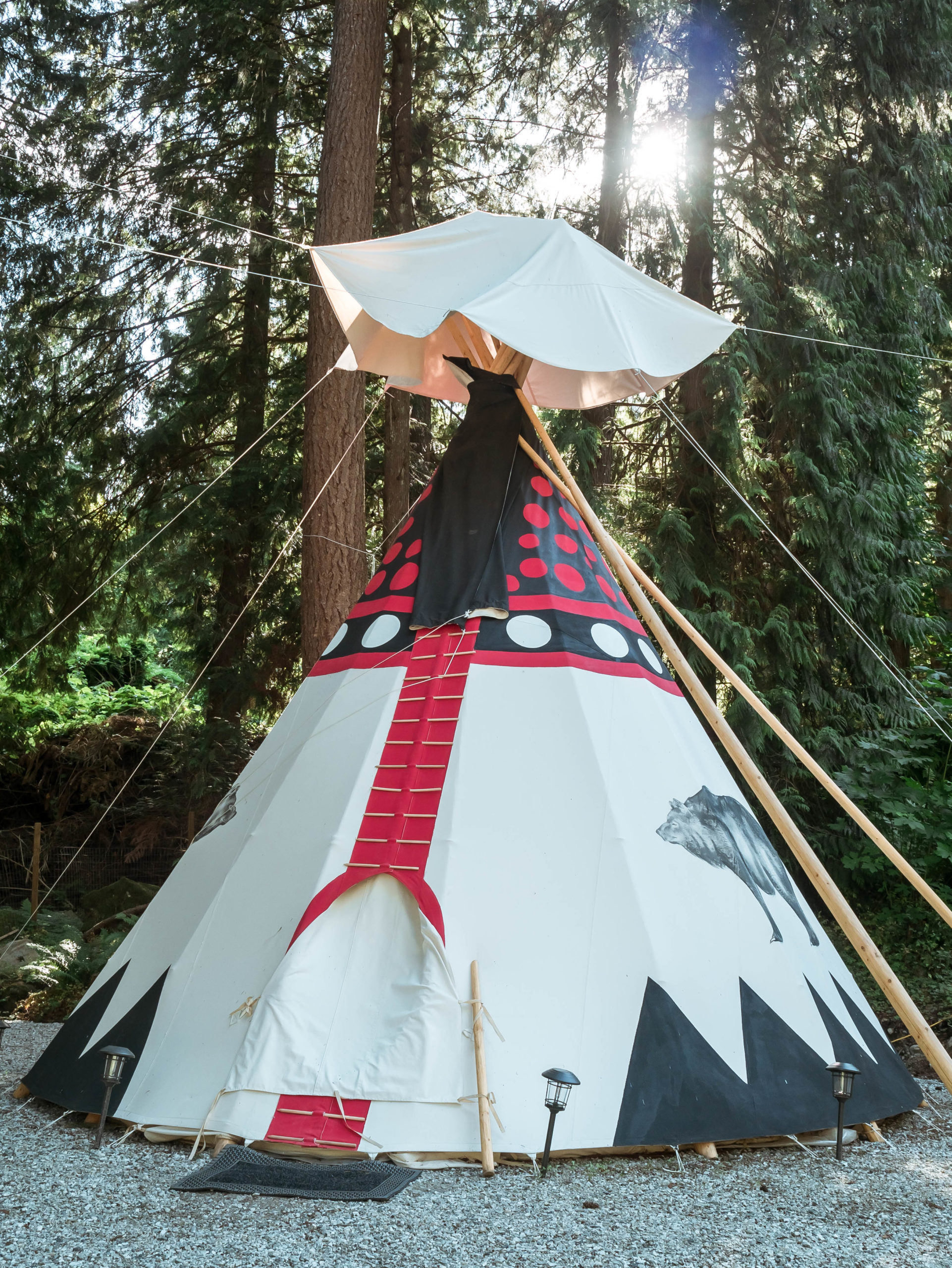 Teepee escape fraser valley